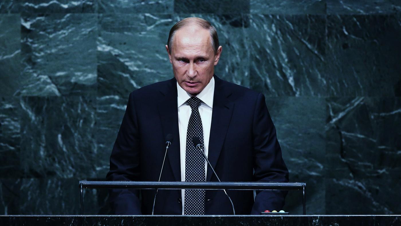 Vladimir Putin is the prince of post-truth politics