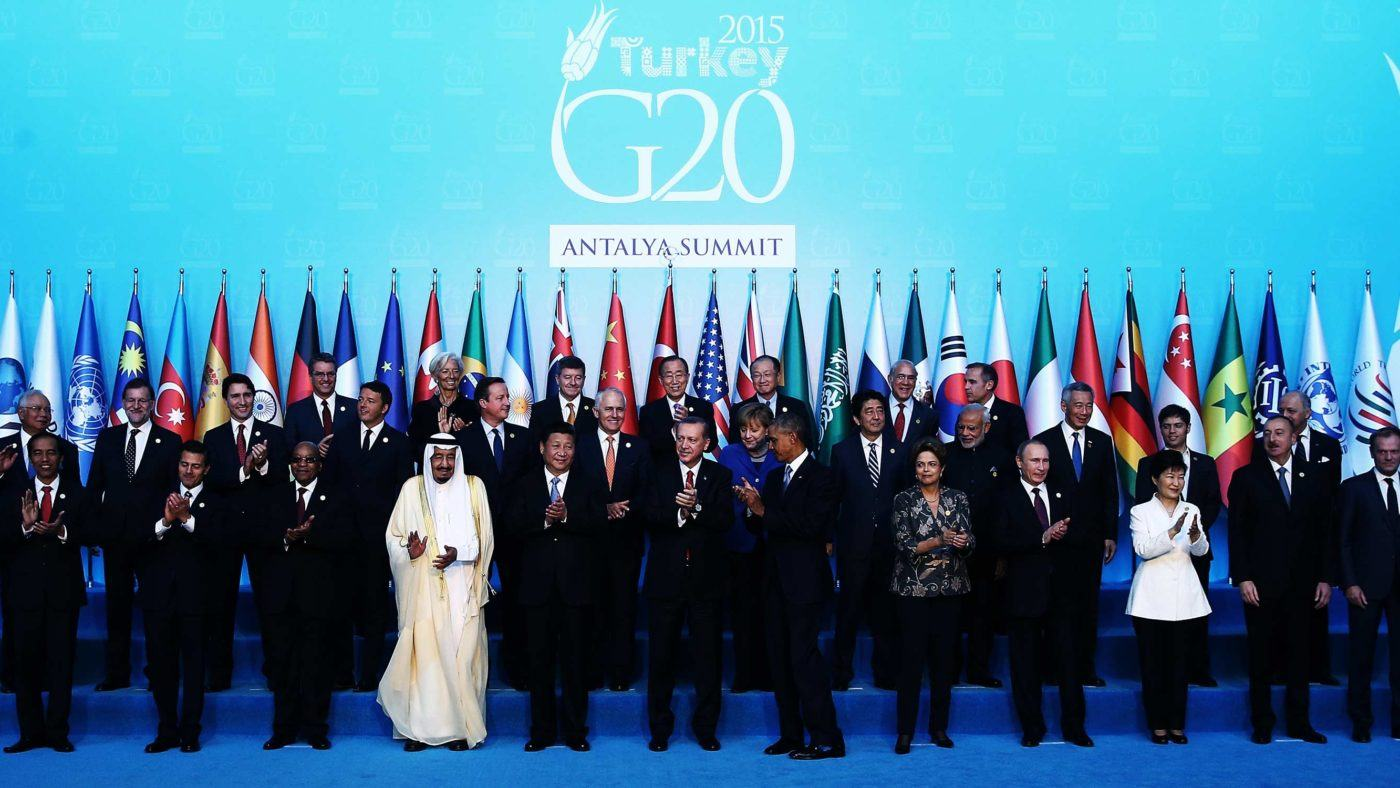 The G20 in a post-Brexit world