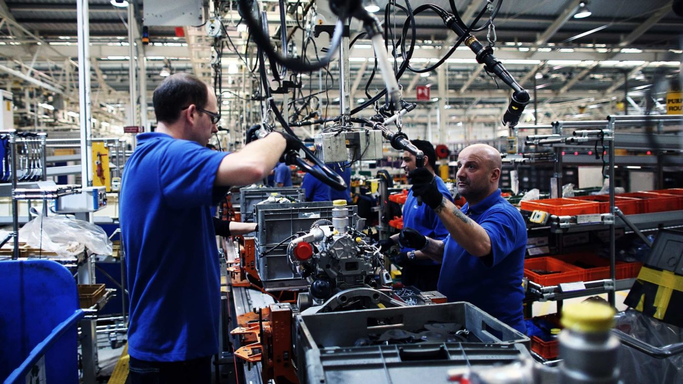 Why does the TUC want to create a million new manufacturing jobs?