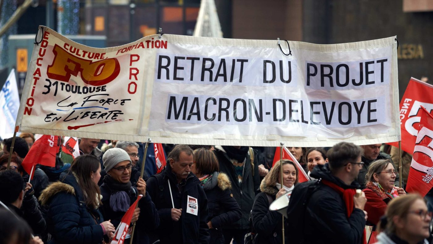 Too much, too late – why Macron's pension reform is in trouble