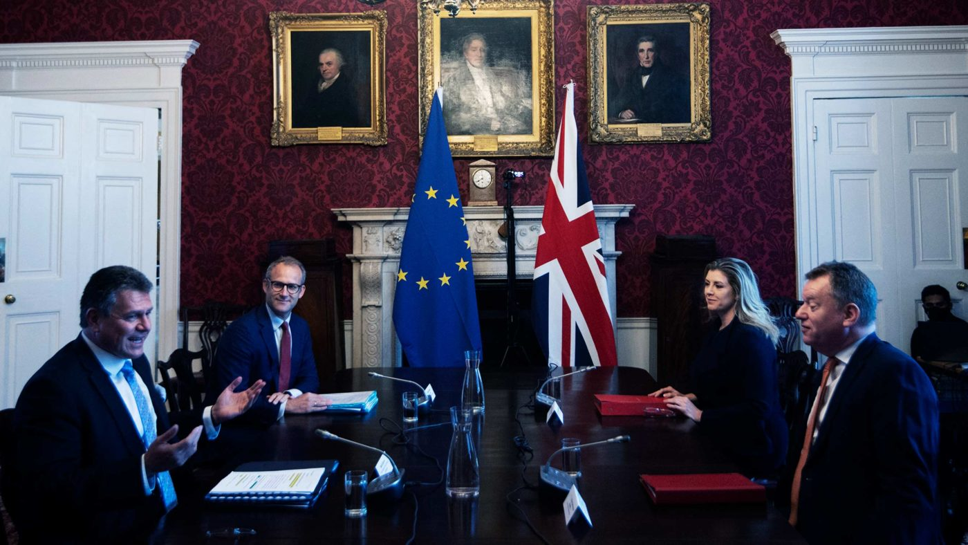 Whatever the two sides agree, this Protocol is not democracy – and it isn't Brexit